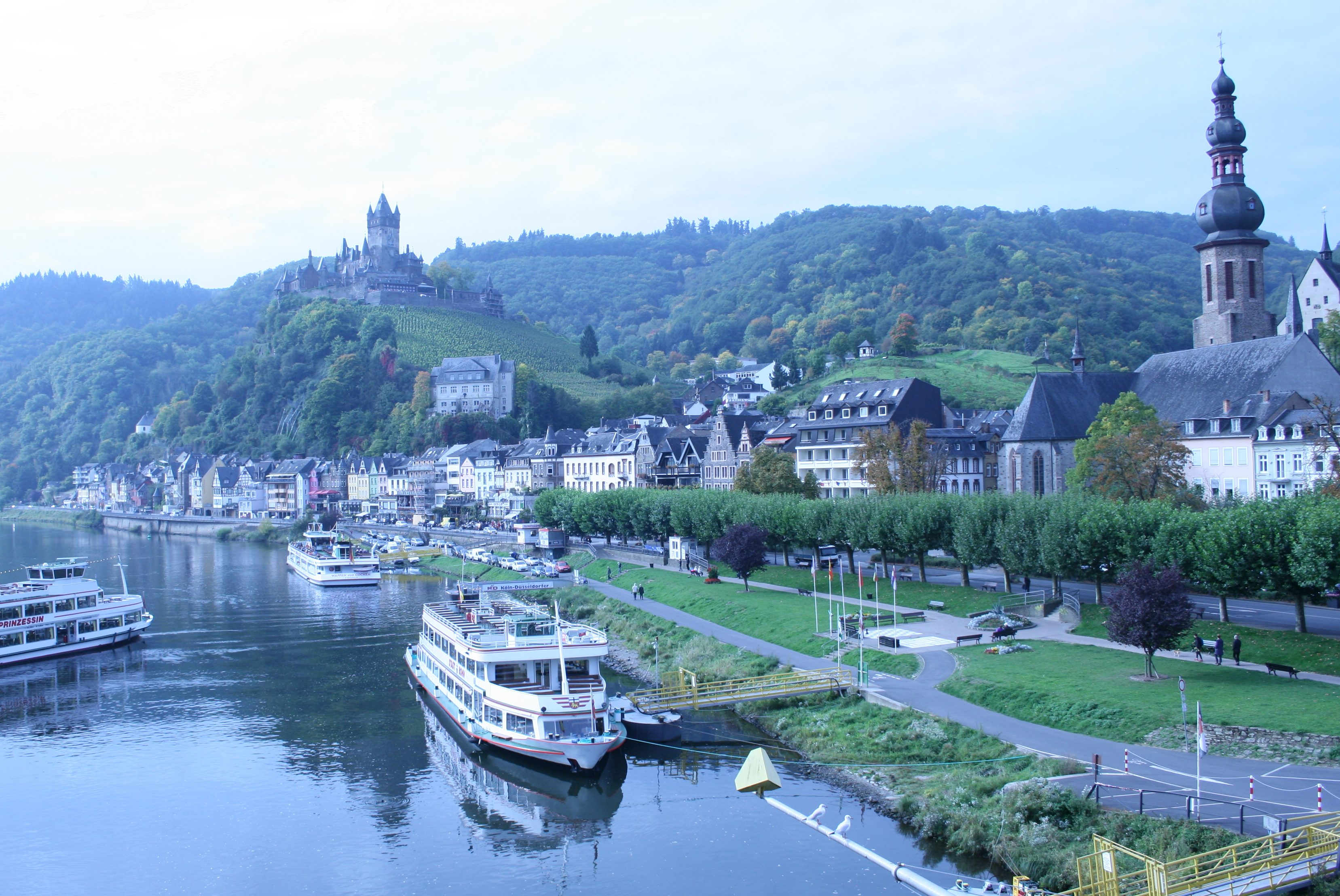 Cochem Germany River View